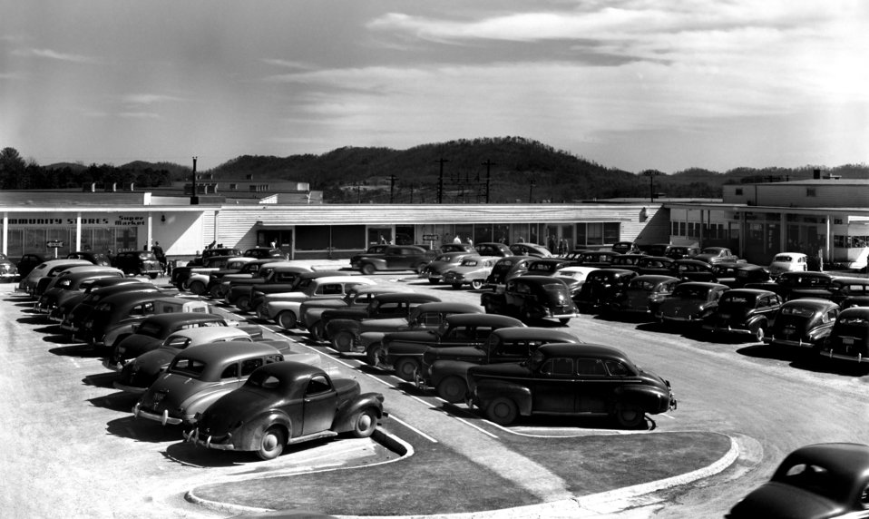 Jackson Square Shopping Center Oak Ridge 1948