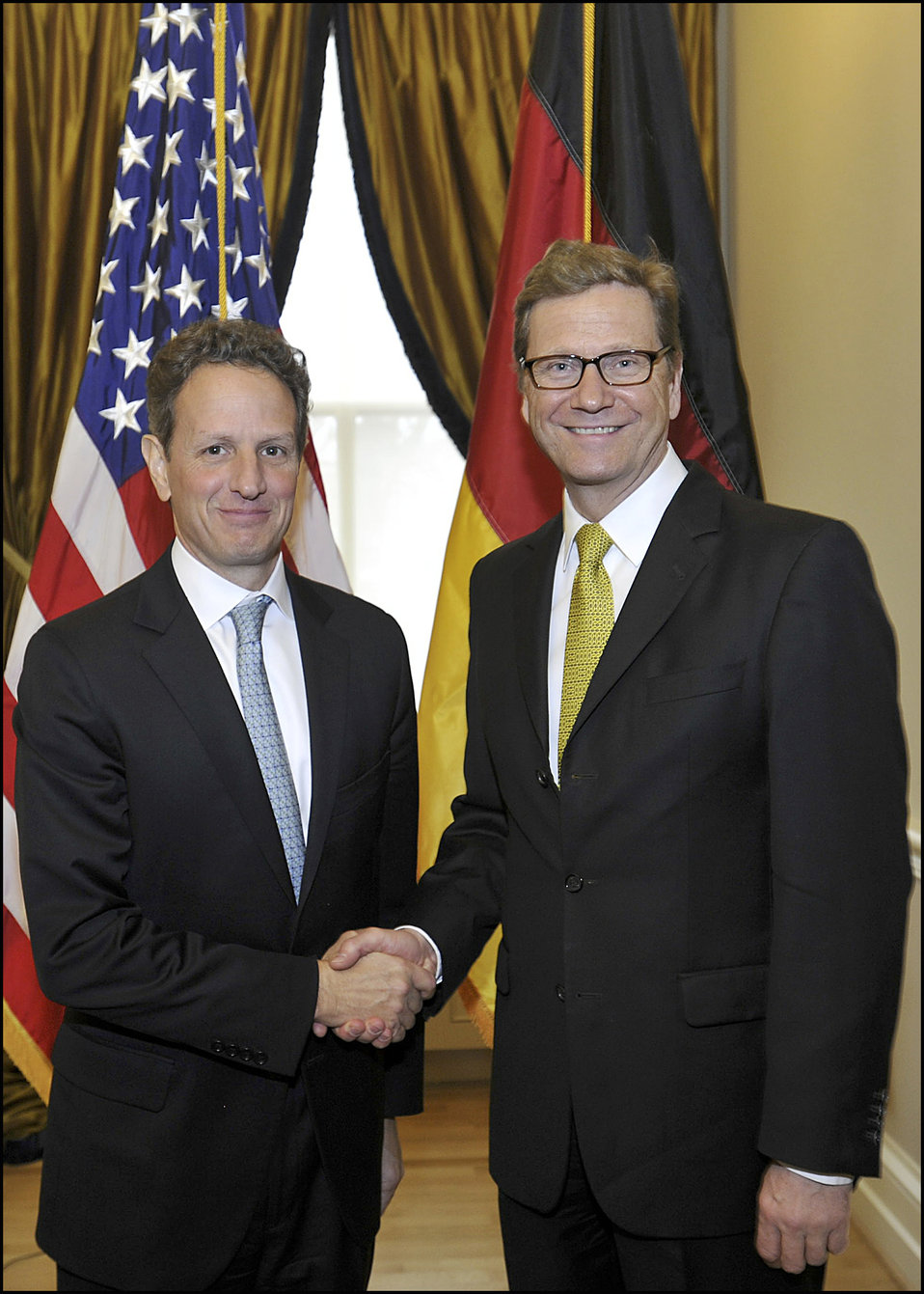 Secretary Geithner Meets with German Foreign Minister Guido Westerwelle