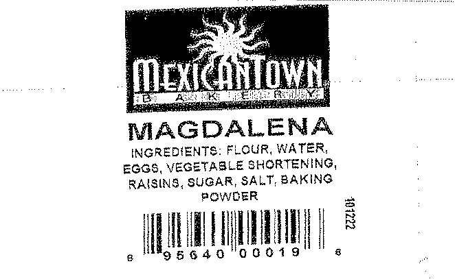 RECALLED - Mexicantown Magdalena