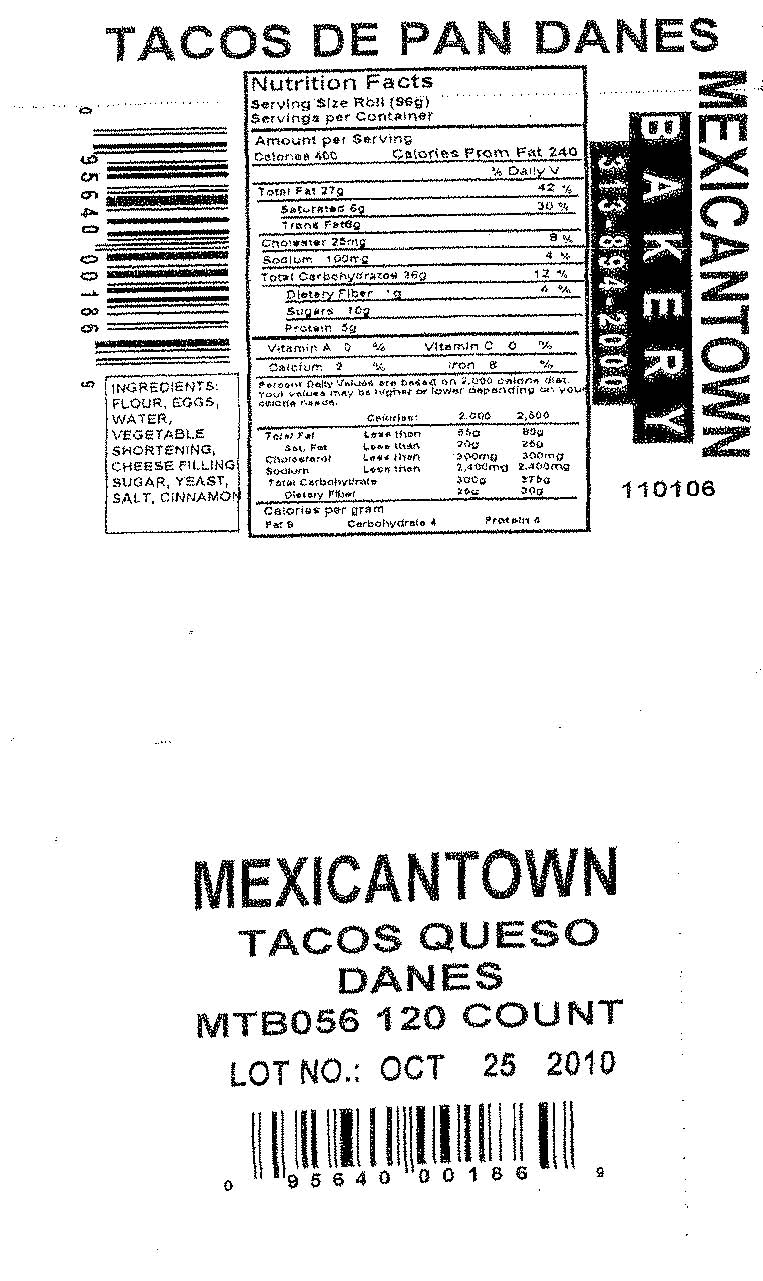RECALLED - Mexicantown Tacos De Pan Danes