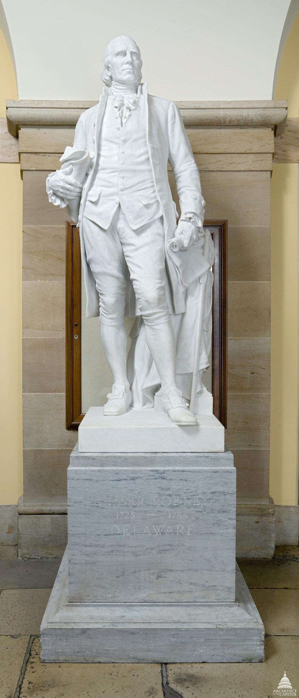 Caesar Rodney Statue