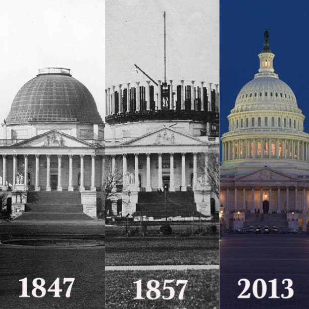 Capitol evolution over time