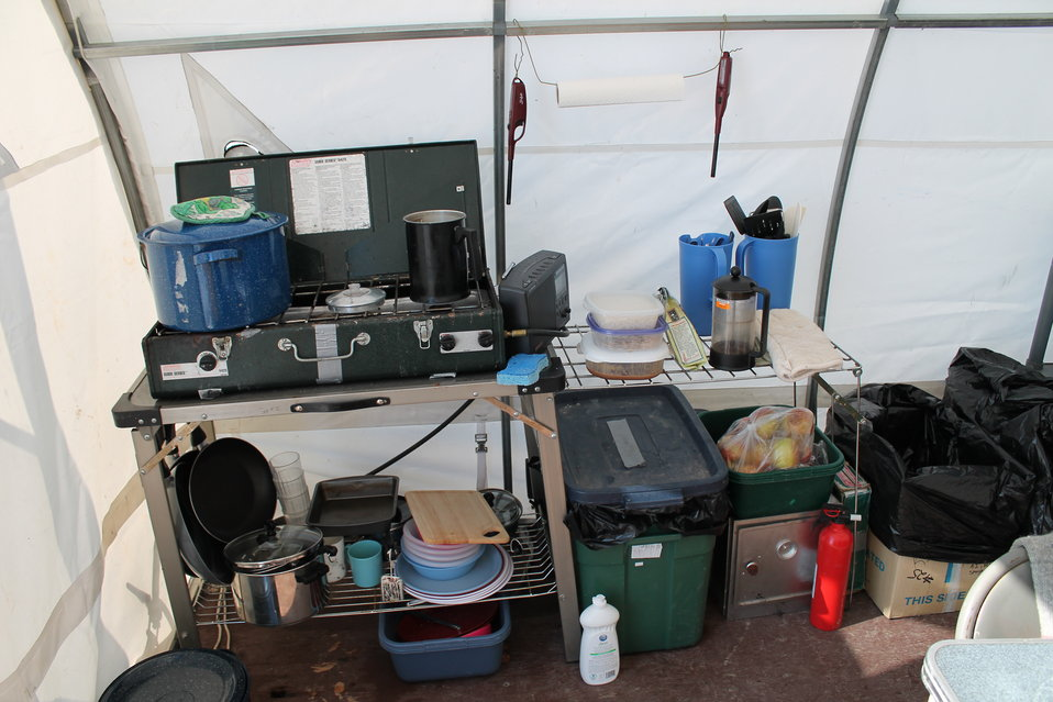 Field camp Kitchen