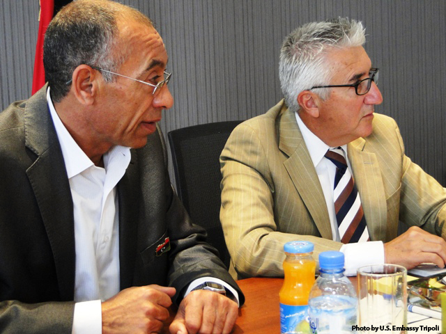Ambassador Cretz Meets With Misurata Local Council Chairman Zwawi