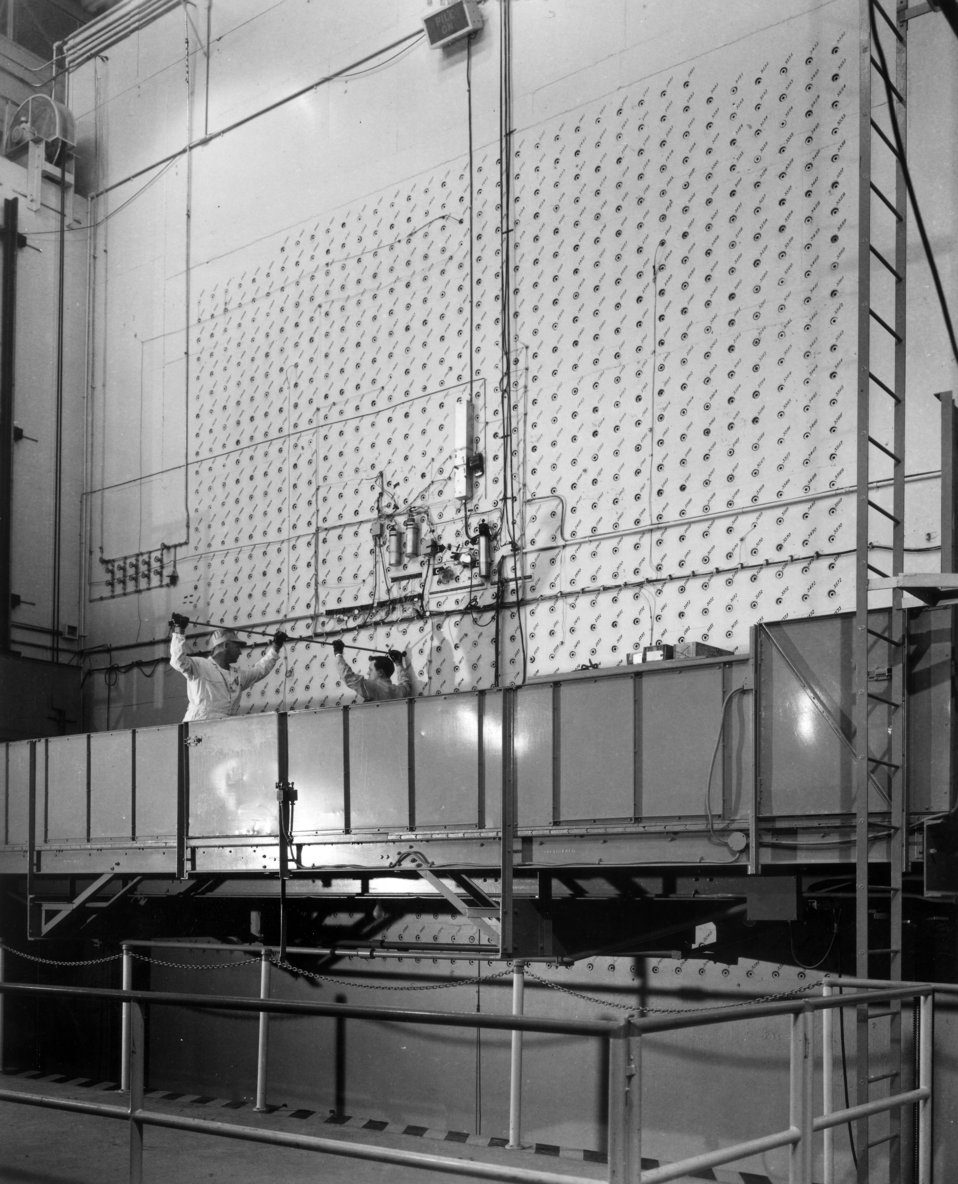 Loading Face Graphite Reactor ORNL