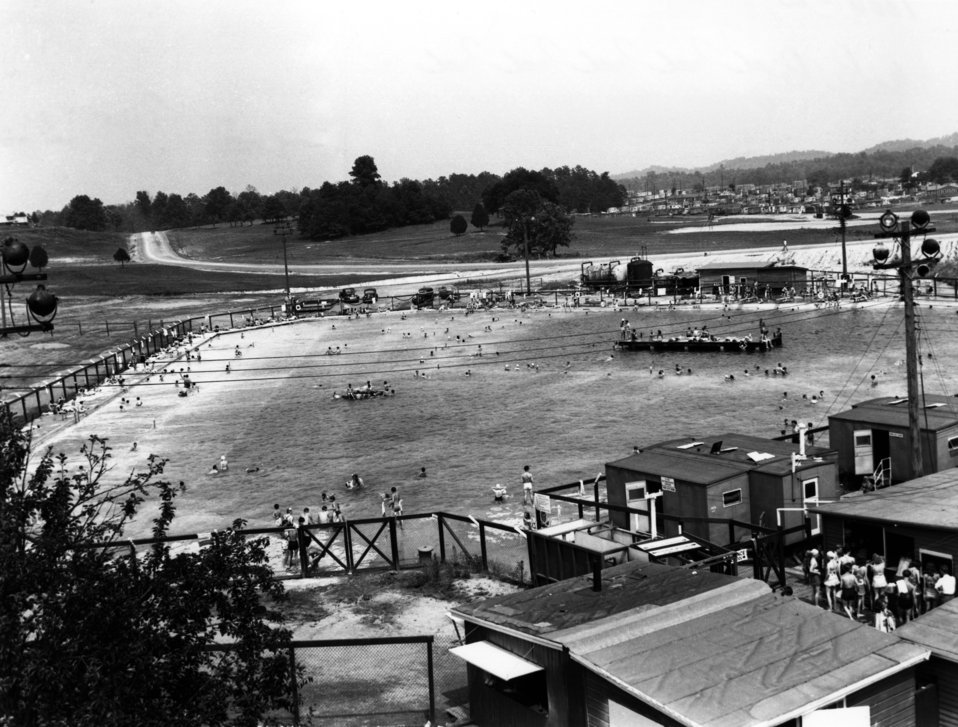 Oak Ridge Swimming Pool 1946