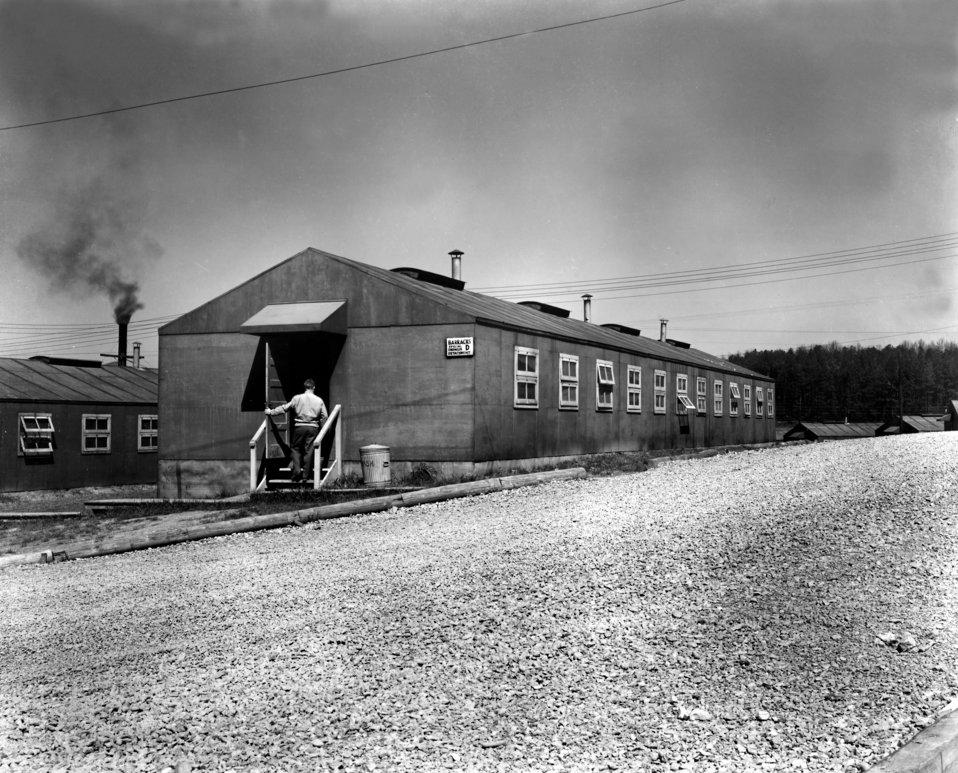Special Engineering Barracks Oak Ridge K-25