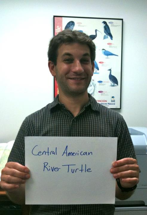 Jonathan Kolby, 'Central American River Turtle,' Credit: USFWS