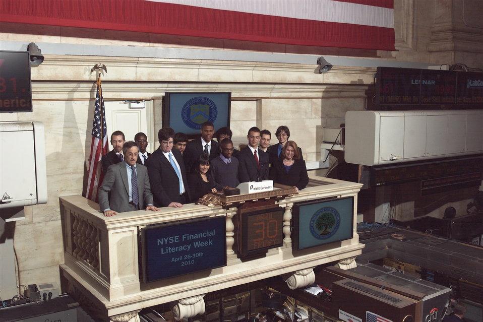 New York Stock Exchange, 4/30/2010
