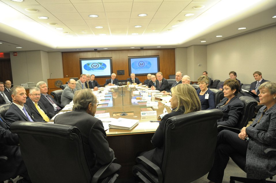 Secretaries Clinton, Perry and Acting Under Secretary Gottemoeller Participate in the ISAB Meeting
