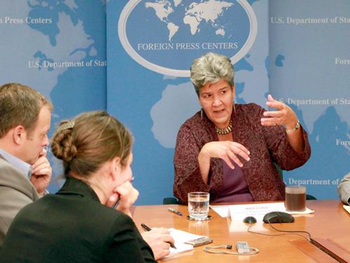 Assistant Secretary Marisa Lago, 10/05/2010