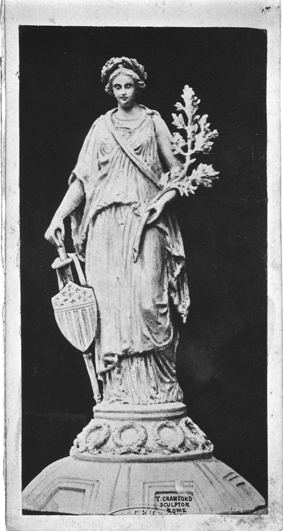 Original Design for Statue of Freedom