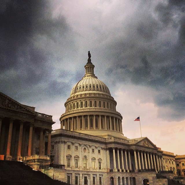 Rainy afternoon at the Capitol.