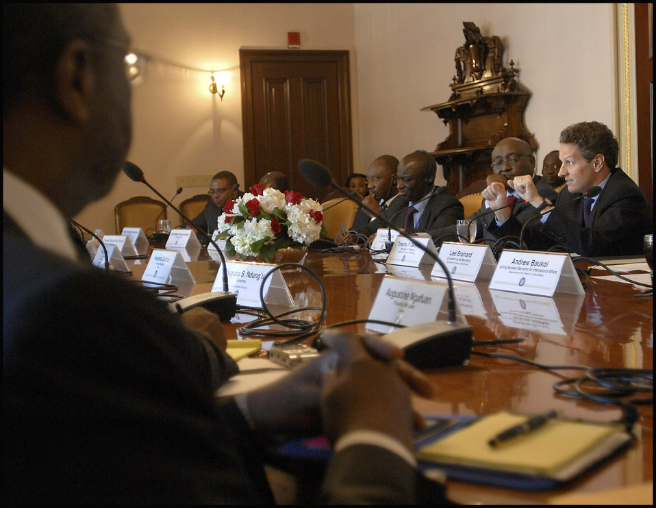 Roundtable with African Ministers
