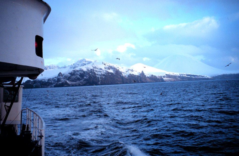 The ironbound shores of the Aleutians