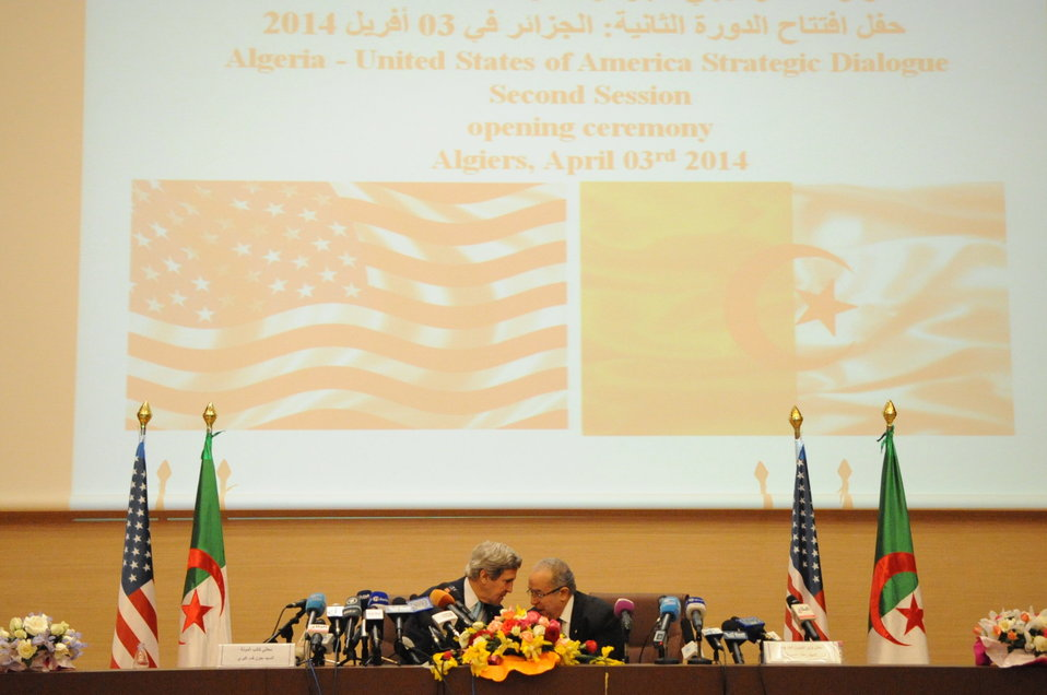 Secretary Kerry and Algerian Foreign Minister Hold Joint News Conference in Algiers