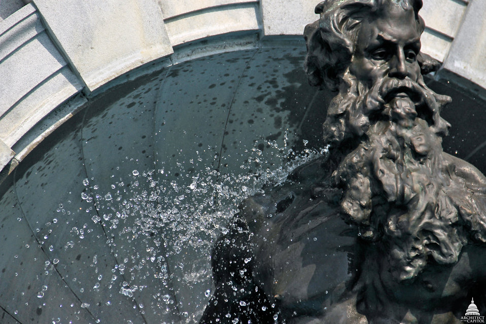 King Neptune - Library of Congress Fountain