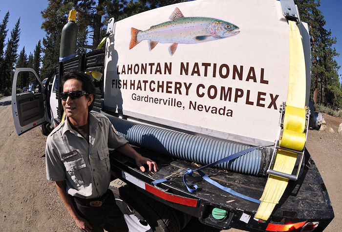 Lahontan Nat'l Fish Hatchery truck
