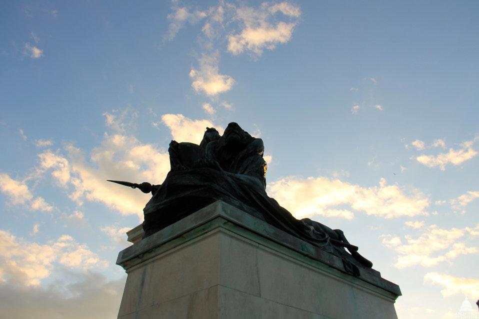 Grant Memorial Lion