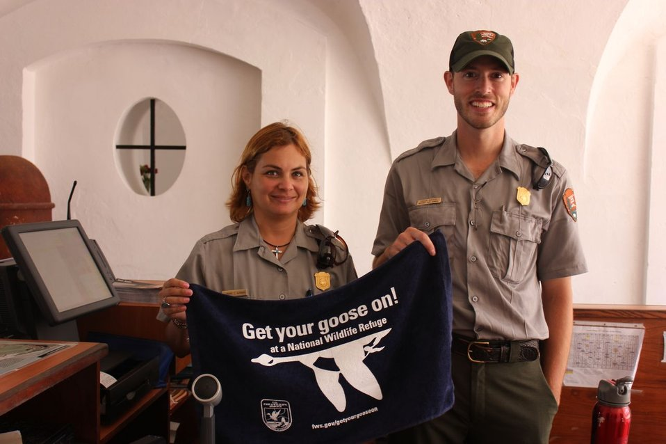 Park Service Employees Get Their Goose On, Too!