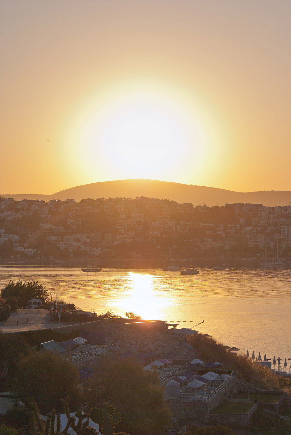 Turkey, bodrum, bitez, sunrise