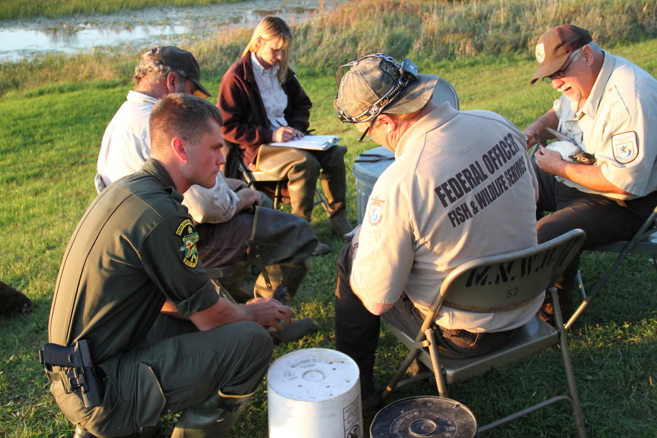 Waterfowl Banding September 2012