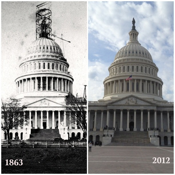 Happy 149th Birthday of Freedom atop Capitol Dome this Sunday.