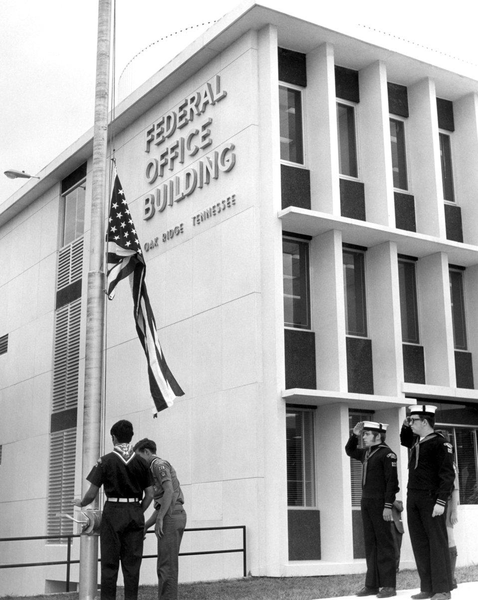 Formal Deication New AEC Federal Office BLD Oak Ridge