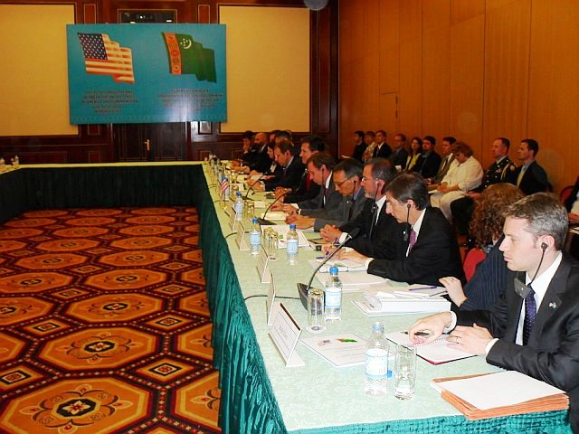 Assistant Secretary Blake Leads Official Delegation to First Annual Bilateral Consultations With Turkmenistan Government