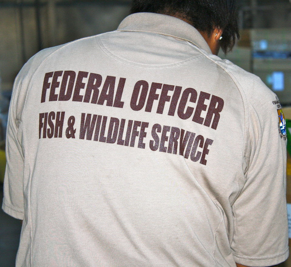 Wildlife Inspector - Federal Officer Shirt