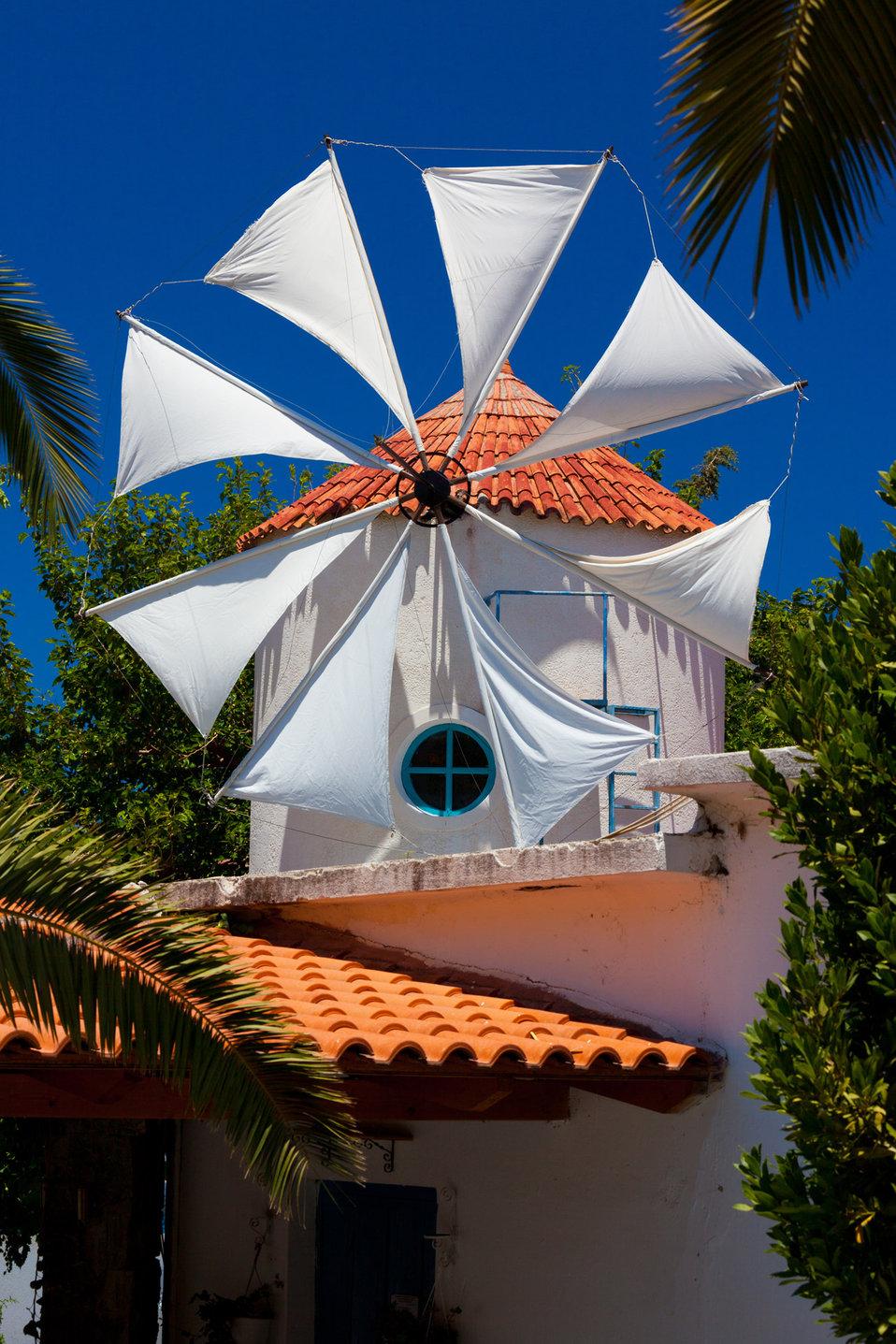 Cretan windmill