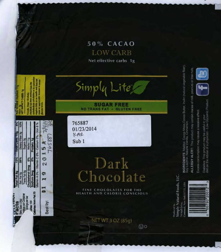 RECALLED - Chocolate Label 2