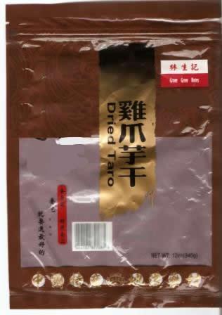 RECALLED - Grove Grow Notes Dried Taro