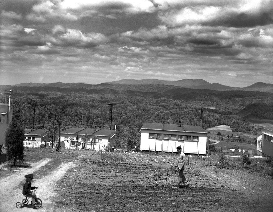 Oak Ridge Housing West Outer Drive 1948