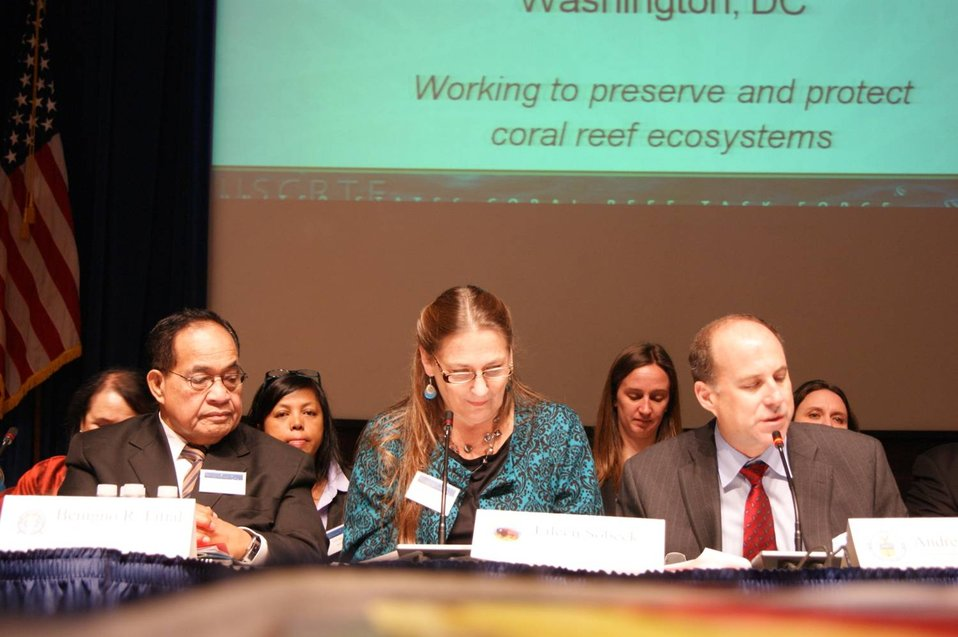 Coral Reef Task Force - Winter Meeting 2012