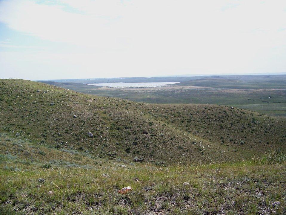 Open Prairie on Hewitt Lake NWR