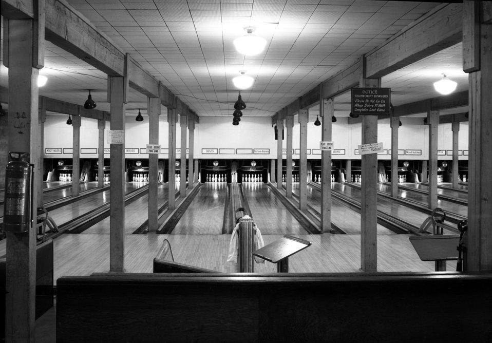 Grove Hall Bowling Alley Oak Ridge 1948