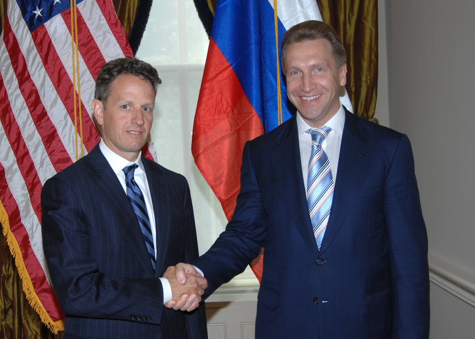 First Deputy Prime Minister Igor Ivanovich Shuvalov of the Russian Federation