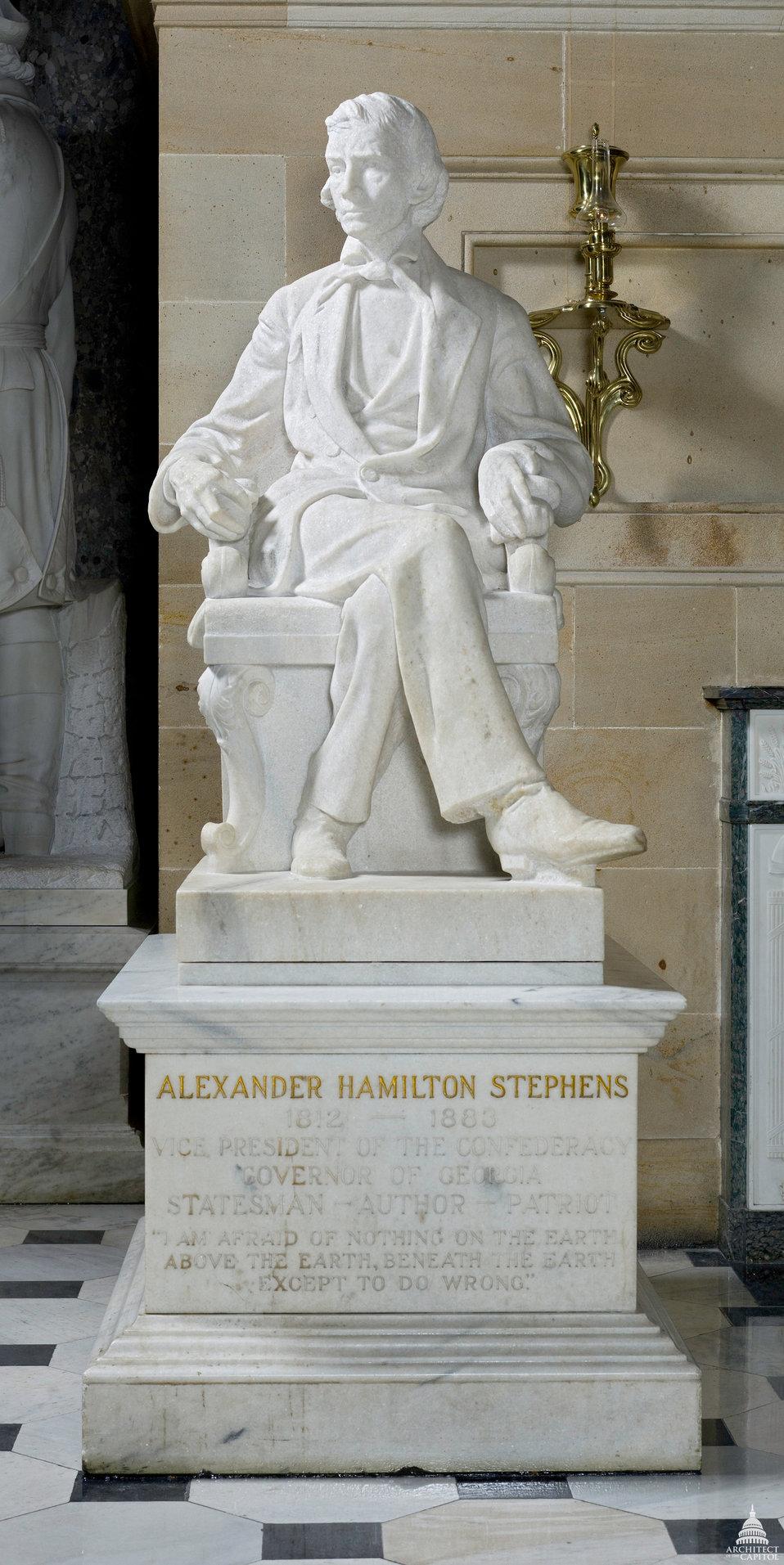 Alexander Hamilton Stephens Statue