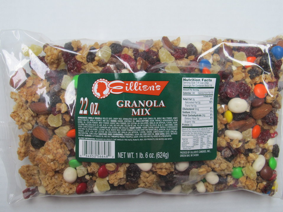 RECALLED - Yogurt Raisins and Granola Mix