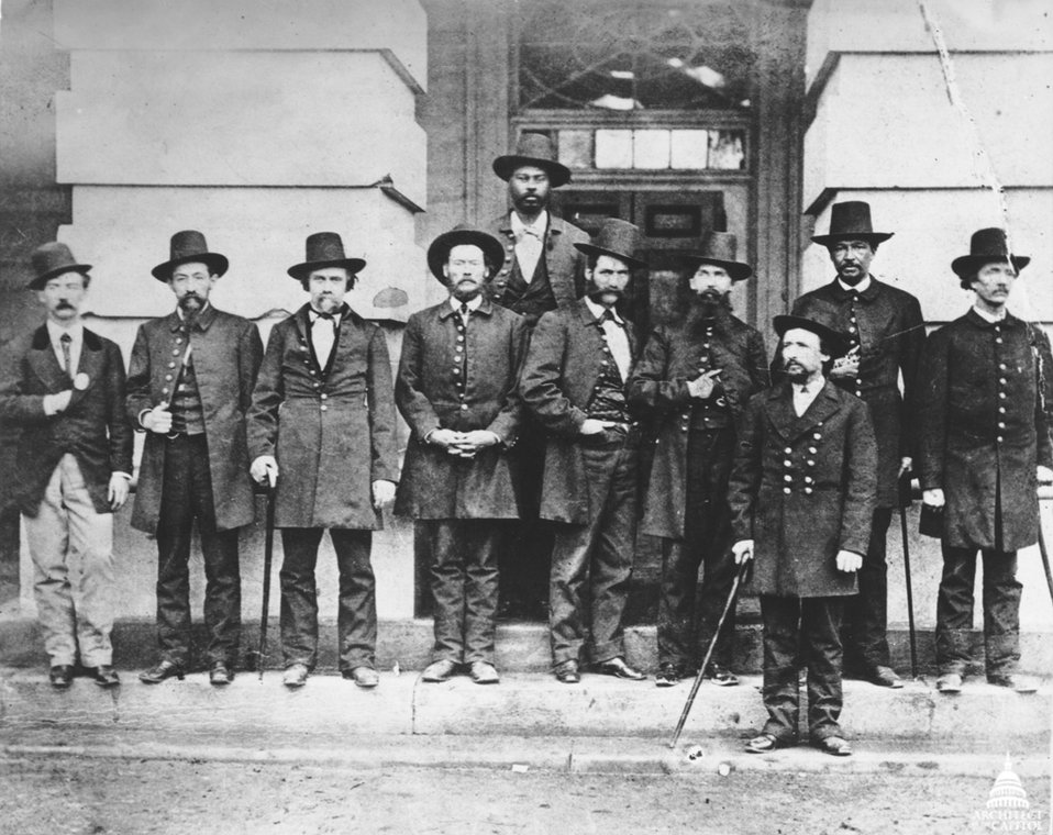 US Capitol Police Force ca. 1870