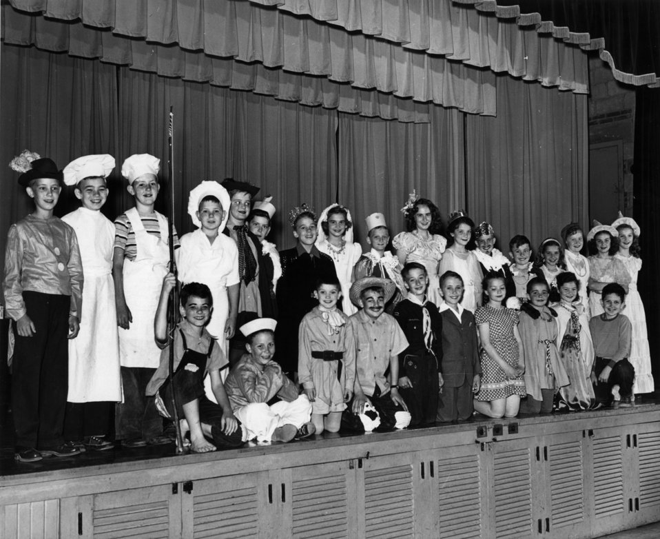 Elm Grove School play Oak Ridge 1948