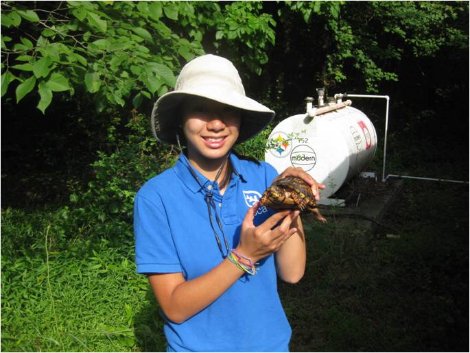 SCA intern at Patuxent Research Refuge