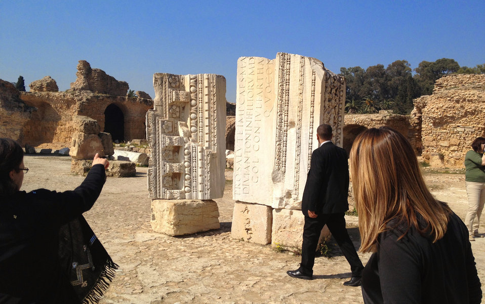 Deputy Secretary Higginbottom Visits the Archaeological Site of Carthage