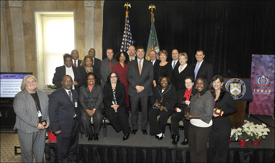 Deputy Secretary Wolin hosts Treasury's Champion Awards