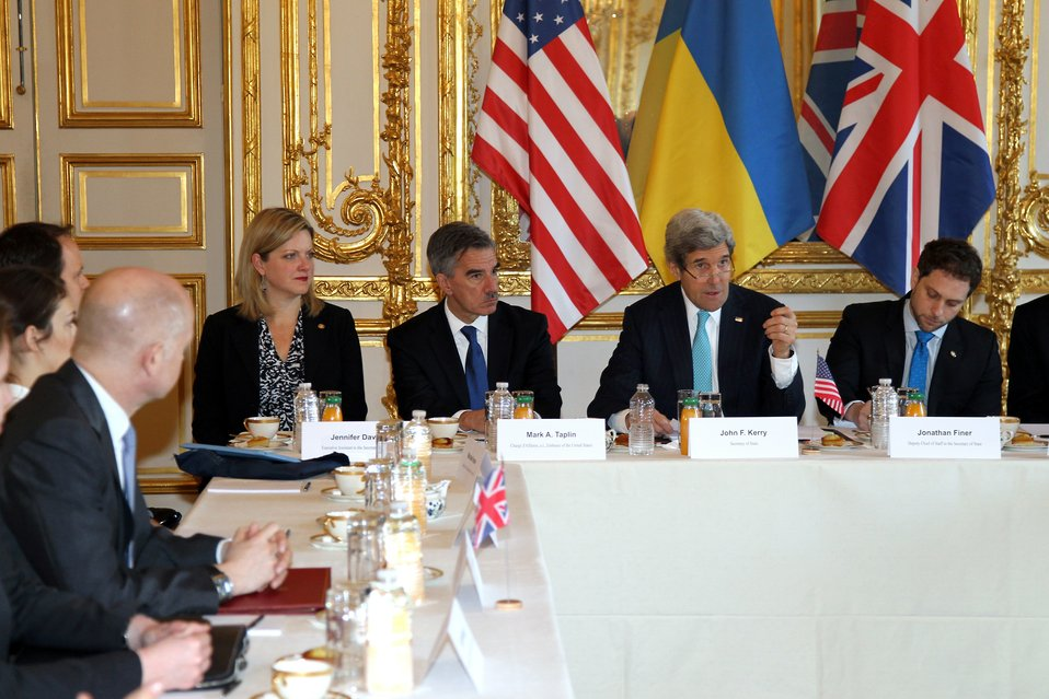 Secretary Kerry Addresses the Budapest Memorandum Ministerial on the Ukraine Crisis
