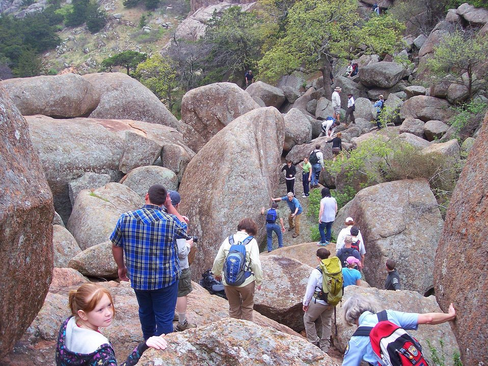 Charon's Garden Trail3, Wichita Mountains Refuge