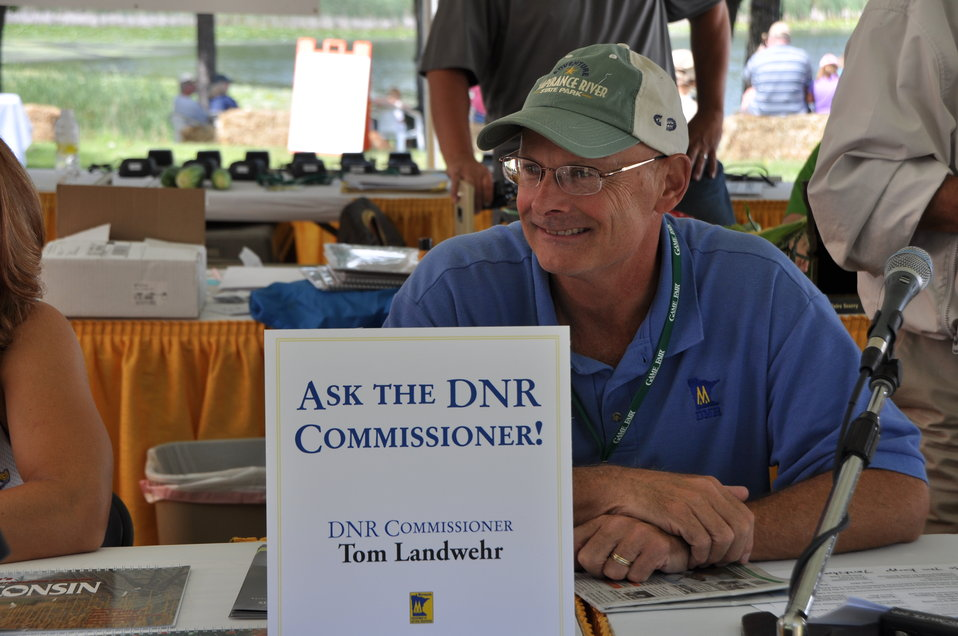Minnesota DNR Commissioner Tom Landwehr