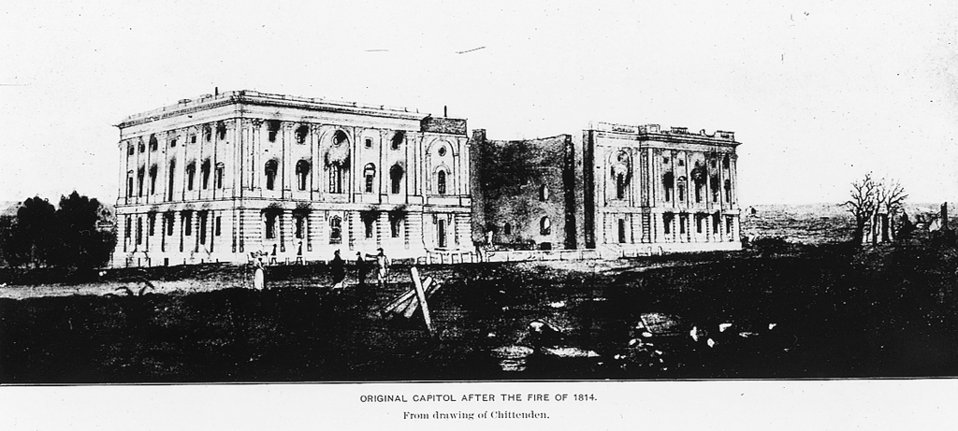 Capitol after Fire of 1814