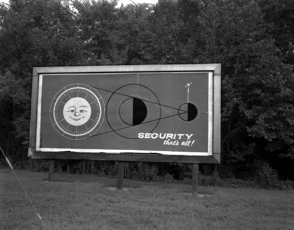 Security Billboard Oak Ridge